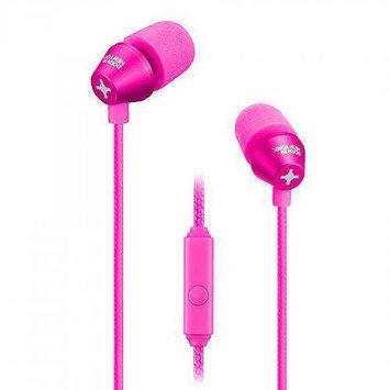 ID AMERICA Metropolitan Aluminum In Ear Headphones, Pink