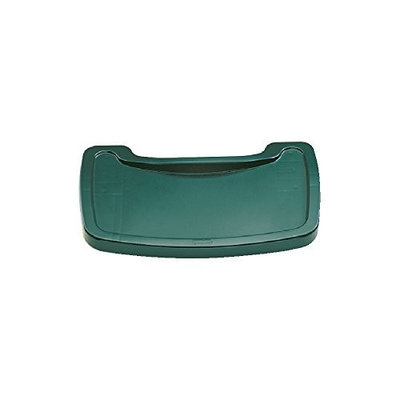Rubbermaid Commercial Products FG781588DGRN High Chair, Tray, Dark Green [Tray, Dark Green]