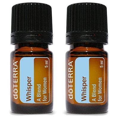 doTERRA Whisper Essential Oil Blend for Women 5 ml (2 pack)