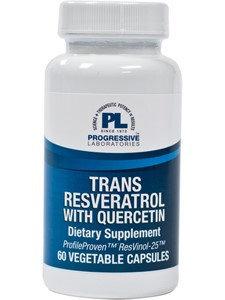 Progressive Labs Trans Resveratrol w/Quercetin 60 vcaps