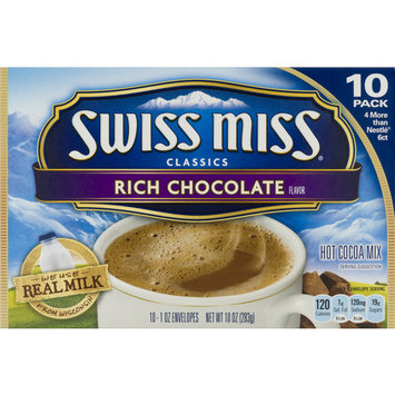 Swiss Miss Rich Chocolate Hot Cocoa Mix, 50 Ct
