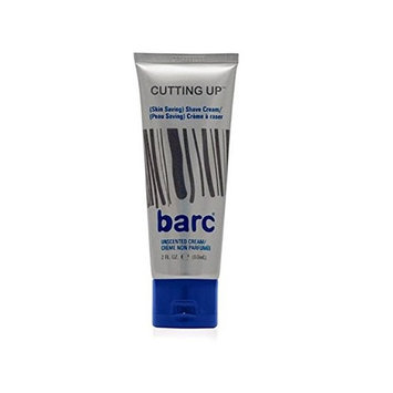 Barc Cutting Up, Unscented Shave Cream, 2 Oz + Makeup Blender