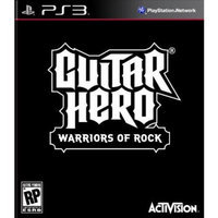 Activision Blizzard Inc 96140 GH Warriors of Rock PS3