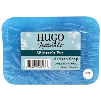 Hugo Naturals, Artisan Soap Bar, Snowman Winter's Eve, 6 oz (170 g)