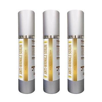 Anti aging serum for women - ANTI-WRINKLE SERUM - Beauty products - 3 Bottles