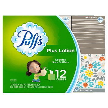 Product of Puffs Plus Lotion Facial Tissues, 672 sheets [Biz Discount]