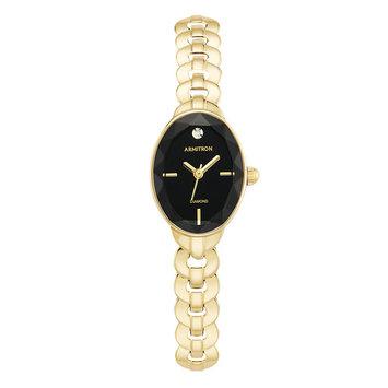 Armitron Gold Tone Bracelet Dial Watch