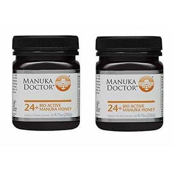 Manuka Doctor Bio Active Honey, 24 Plus, 8.75 Ounce (2-(Pack))