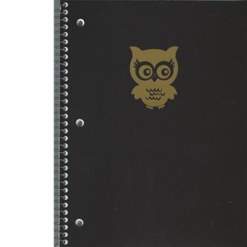 Norcom Fashion Black Poly Notebook