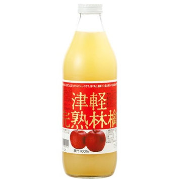 Tsugaru ripe apple juice red label 1000ml