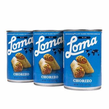 Loma Linda Blue Chorizo (15 oz.) (Pack of 3)