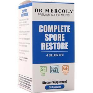 Dr. Mercola Complete Spore Restore - 4 Billion CFU 30 caps