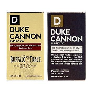 Duke Cannon - Buffalo Trace Bourbon Soap and Big American 'Smells Like Accomplishment' Bar Soap Combo