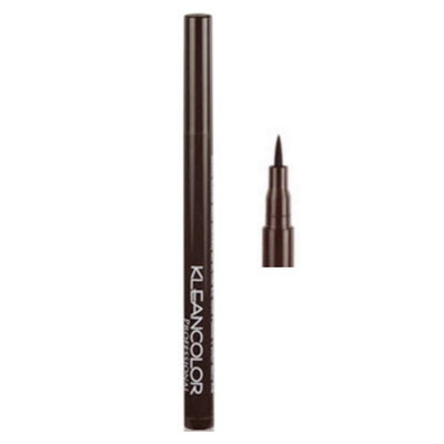 (3 Pack) KLEANCOLOR Professional Tatoo Liquid Eyeliner Chocolate Brown