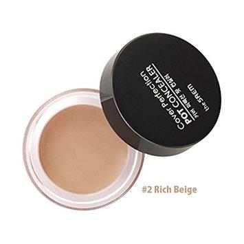 [THE SAEM] Cover Perfection Pot Concealer (#2 Rich Beige)/K-Beauty/Korea Cosmetic: Beauty