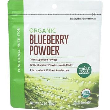 Whole Foods Market, Organic Blueberry Powder, 4 oz