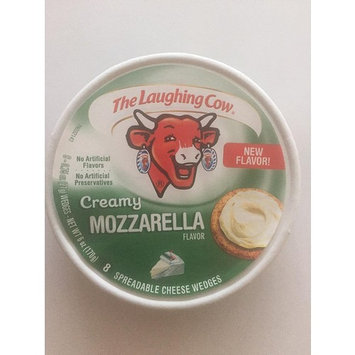 The Laughing Cow - Creamy Mozzarella Cheese Wedges - ( Pack of 4 )