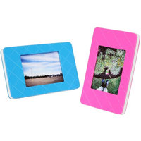 Fujifilm Instax Desk Top Picture Frame - Blue and Pink