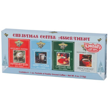 Miles Kimball Christmas Coffee, Set of 4