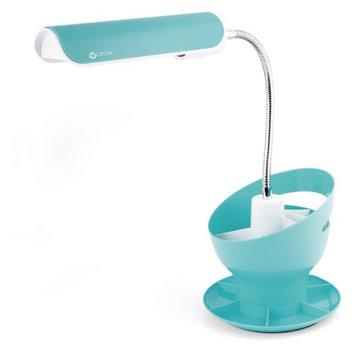 OttLite Craft Space Organizer Desk Lamp Blue