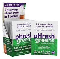 pHresh Products pHresh Greens Raw Alkalizing Superfood 15 Packets