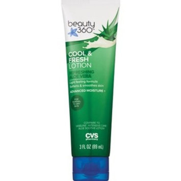 Beauty 360 Cool & Fresh Lotion, 3 OZ
