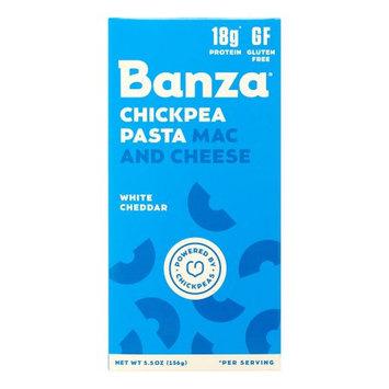 Banza Chickpea Pasta Mac & Cheese, White Cheddar Elbows, 5.5 Oz