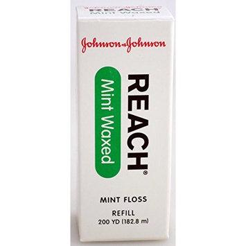 J&J Floss Refill 200 Yd. - Mint - Waxed -