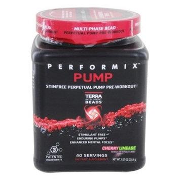 PERFORMIX PUMP Stimfree Perpetual Pump PreWorkout, StimualantFree, Enduring Muscle Pump, 40 Servings, Cherry Limeade [Cherry Limeade]
