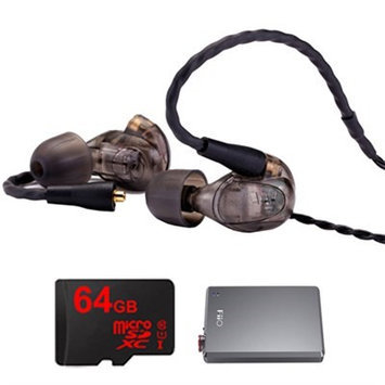Westone UM Pro 30 High Performance In-ear Headphone (Smoke)-78489 w/ FiiO E12 Amp Bundle