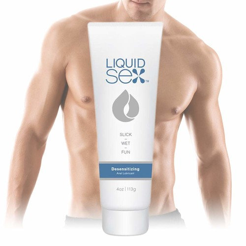 Topco Liquid Sex Desensitizing Anal Lube, 4 Ounce
