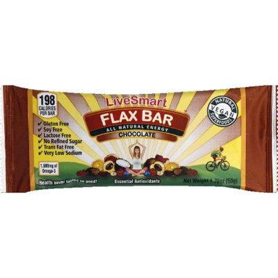 Live Smart Bar Flax Bar Chocolate 1.76 oz - Vegan