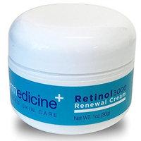 Retinol 3000 Renewal Cream Anti-Aging for Face   w/ Jojoba, Hyaluronic Acid, Squalane   Premium Quality   Helps Smooth Wrinkles & Fine Lines   Improves Texture for More Youthful Skin   1 fl oz / 30 g