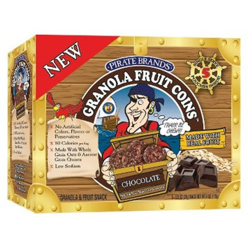 Pirate's Booty Granola Fruit Loot Chocolate 5-pk