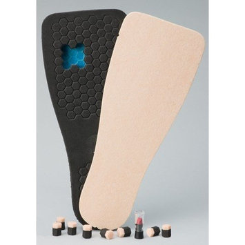 Complete Medical Peg-Assist Insole Square-Toe, Small, 1 Pound