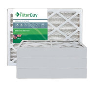AFB Platinum MERV 13 10x18x4 Pleated AC Furnace Air Filter. Filters. 100% produced in the USA. (Pack of 4)