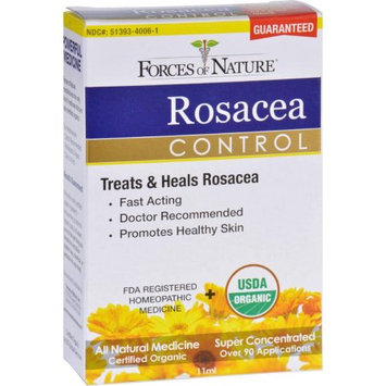 Forces of Nature Rosacea Control - Certified Organic - 11 ml