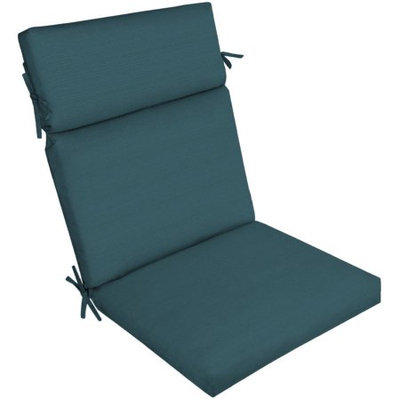 Arden Companies Better Homes and Gardens Outdoor Patio Dining Chair Cushion, Peacock Texture