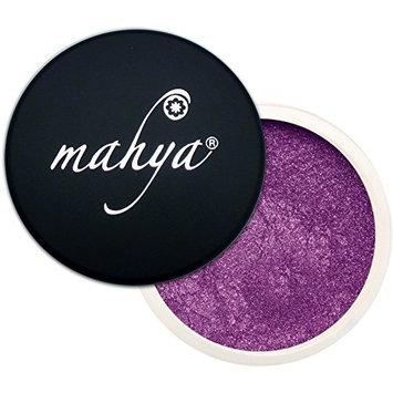 "Multi-Purpose Mineral Lustrous Eye Shadow Violet"" 0.09 Ounce by Mahya Cosmetics"