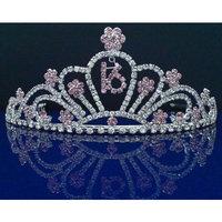 SparklyCrystal Sweet 16 Birthday Tiara 5208S9