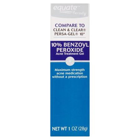 Equate Beauty 10% Benzoyl Peroxide Acne Treatment Gel, 1 oz
