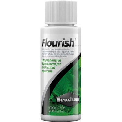 Seachem Laboratories ASM514 Flourish Plant Nutrients- 50ml