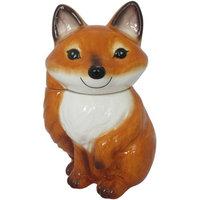 Fujian Dehua Longnan Ceramic Co.,ltd Fox Cookie Jar
