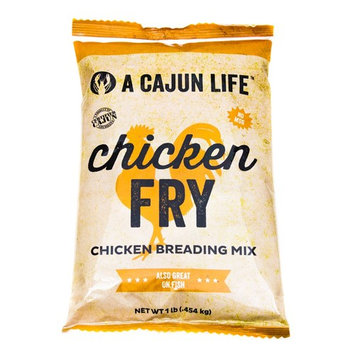 A Cajun Life Chicken Fry | Seasoned Chicken Breading Mix | Authentic and Certified Cajun Chicken Breading, Non-GMO, No MSG, Great On All Types of Meat. [Chicken Breading Mix]