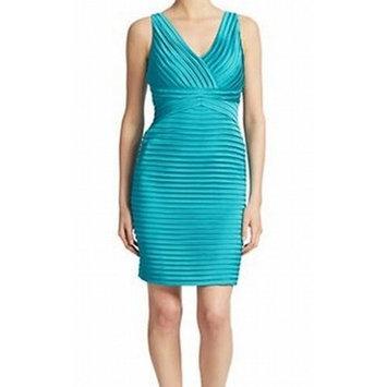 Calvin Klein NEW Blue Women's Size 2 V-Neck Sheath Bandage Dress