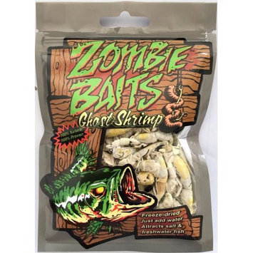 King Pacific Corporation 100% Natural Freeze-dried Ghost Shrimp Fishing Bait