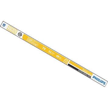 Philips Lightbulbs 4 ft. T8 32-Watt Neutral Alto Linear Fluorescent Light Bulb (10-Pack) 434472