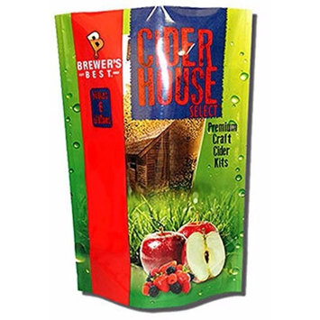 Home Brew Ohio HOZQ8-1395 Brewer's Best House Select Strawberry Pear Cider Kit, Multicolor
