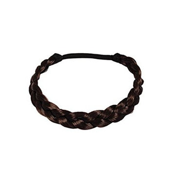 SBParts Fashion Stylish Soft Extensions Stretchy Braided Faux Hair Plaits Headband Hairband