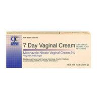 3 Pack Quality Choice Miconazole Nitrate Vaginal Cream 7-Day 2% 1.59oz Each